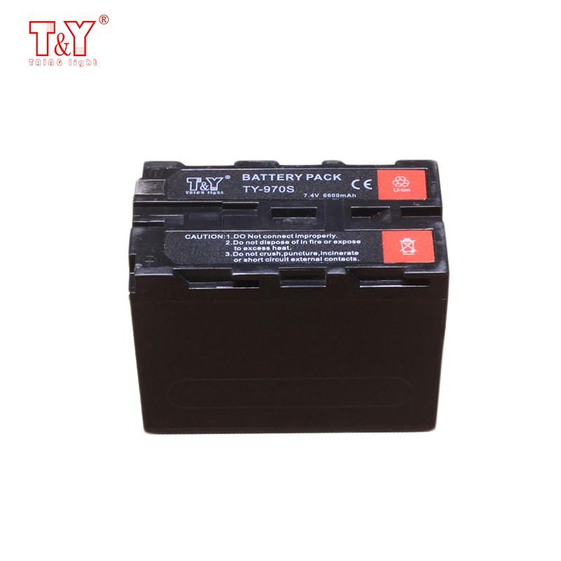 6600mAh digital camera battery as Sony NP- F970