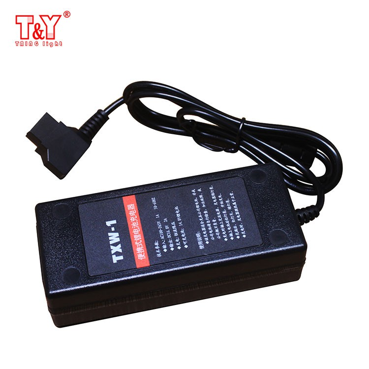 Portable 16.8V D-tap  lithium battery ch