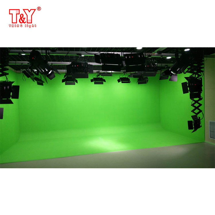 (U-shaped)Photo video studio blue/ green