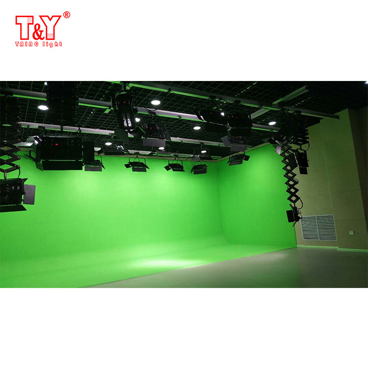 (U-shaped)Photo video studio blue/ green screen collapsible chroma key background