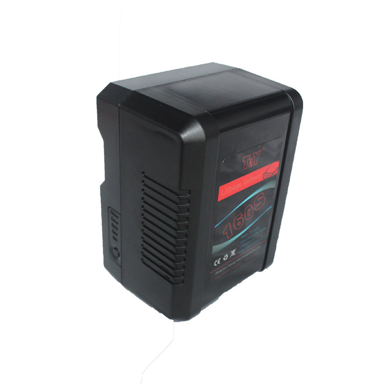 Compact V-mount battery 160Wh with USB & D-tap