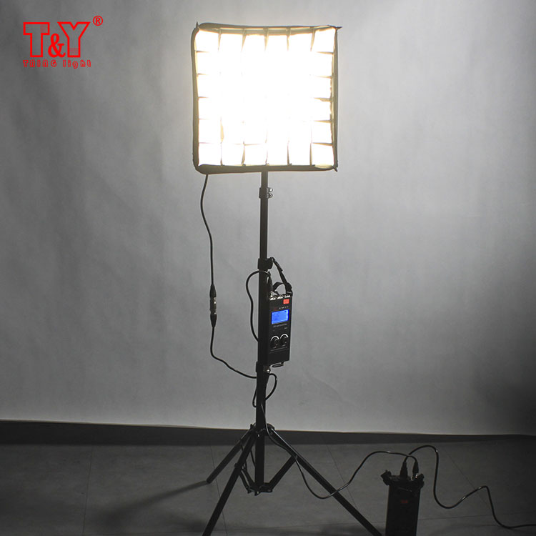 Portable video studio 1*1 50W photographic LED flexible light mat kit