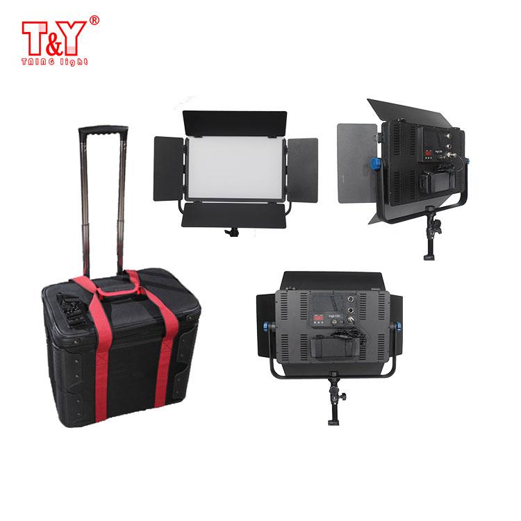 60W Video lighting studio photographic light kit for 3 point lighting