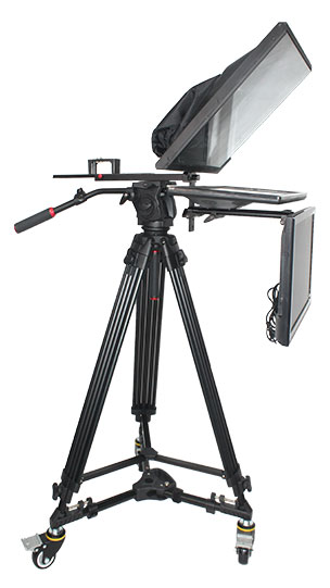 "TV Broadcast 22"" Studio Professional Teleprompter with Self-test Screen(图1)"