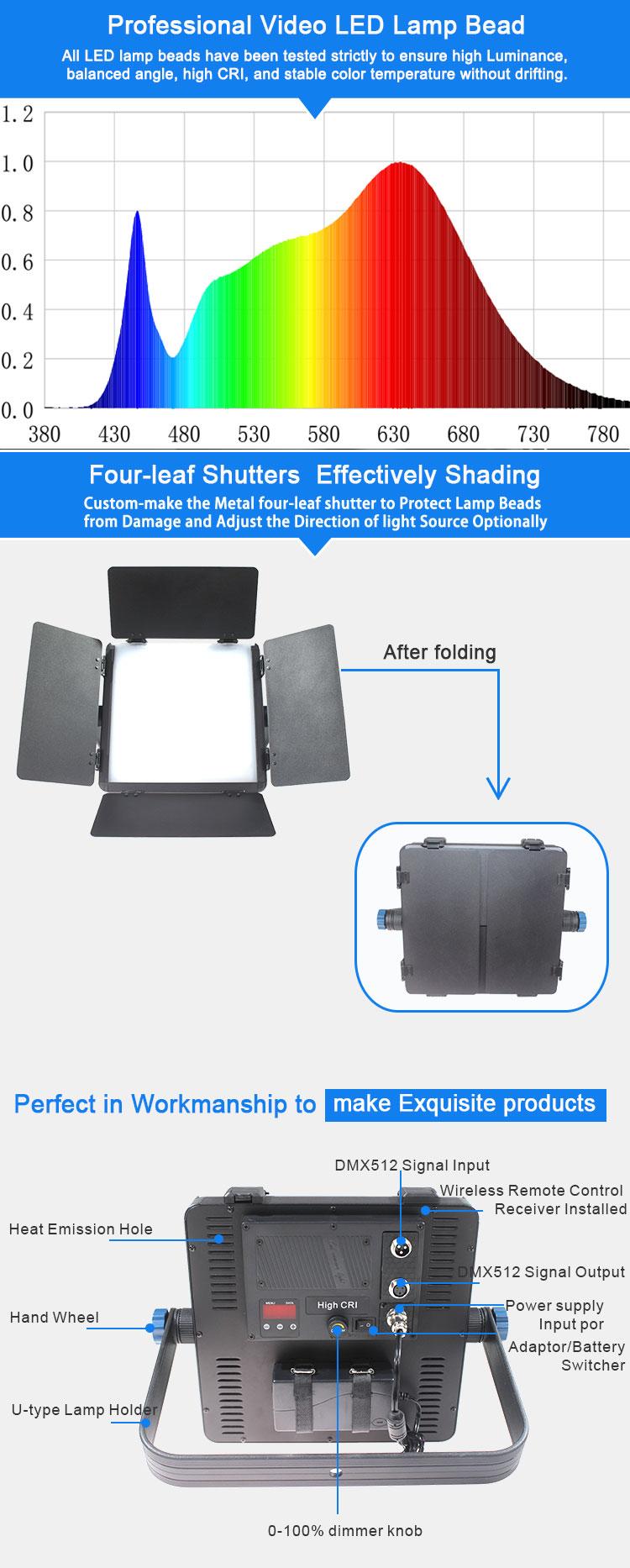 TY-LED600 Studio Panel Light 40W(图6)