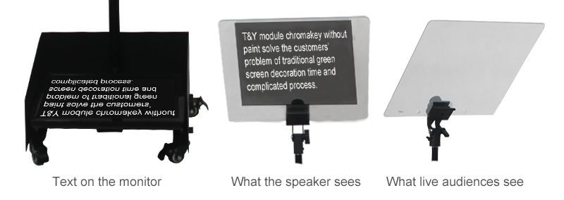 How do the presidents teleprompters work?(图2)