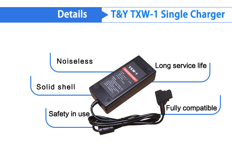 Portable 16.8V D-tap  lithium battery charger (图4)