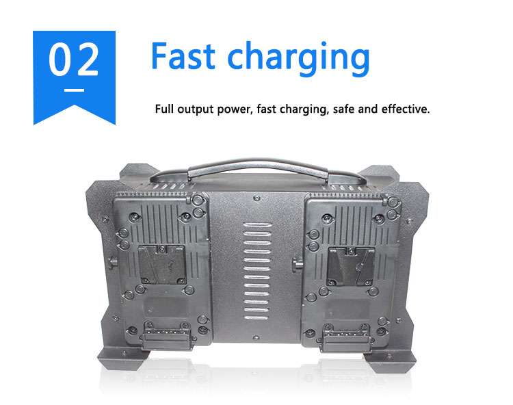 Intelligent charging 3.5A current 4 channel V mount battery charger(图6)