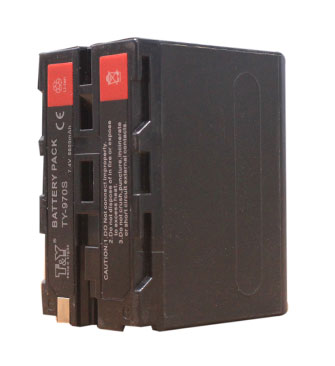 6600mAh digital camera battery as Sony NP- F970(图1)