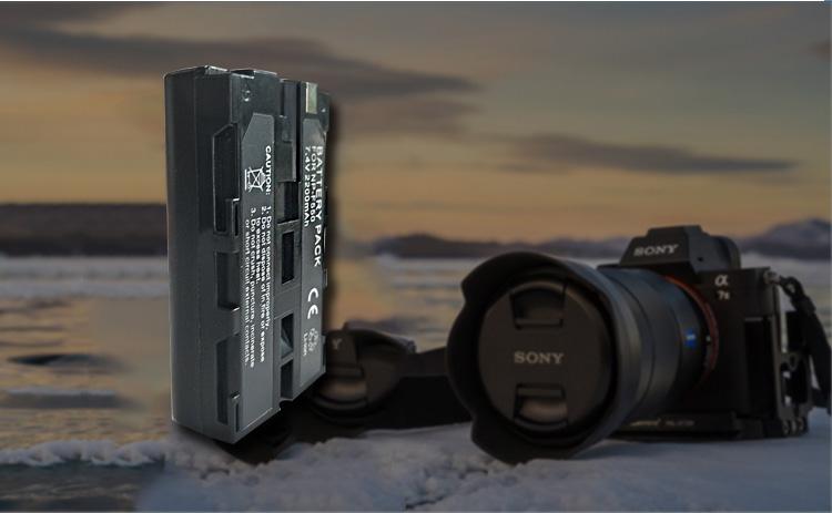 2200mAh digital camera battery as Sony NP-F550(图6)