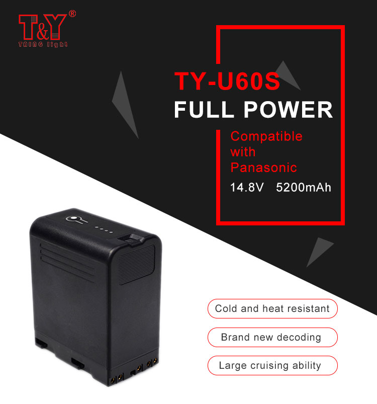 14.8V multi-function BP-U60 (TY-U60S) digital battery (图1)