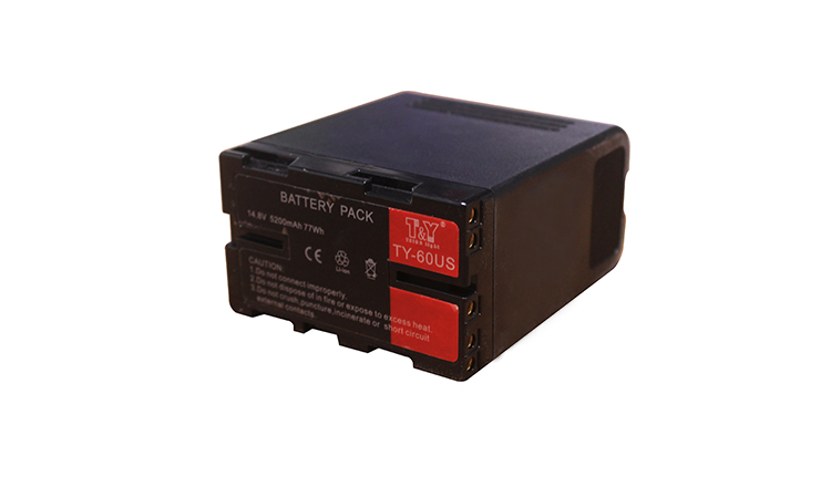 14.8V multi-function BP-U60 (TY-U60S) digital battery (图2)