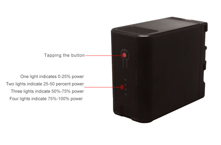14.8V multi-function BP-U60 (TY-U60S) digital battery (图4)
