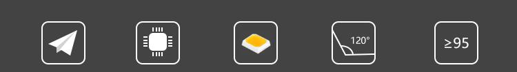 Build-in battery bi-color pocket video light (图2)