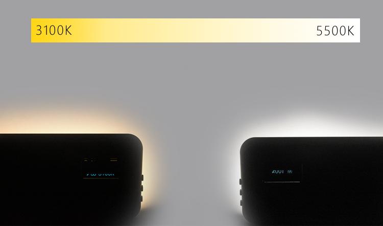 Build-in battery bi-color pocket video light (图3)